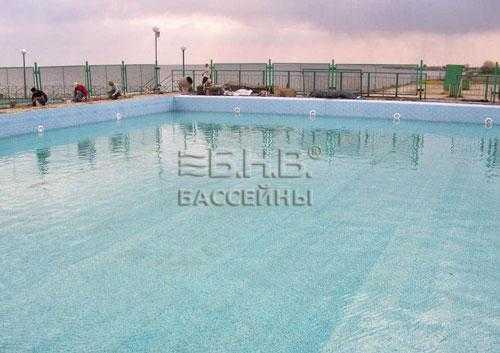 Примеры установки бассейнов БНВ Детский оздоровительный комплекс «АВРОРА»