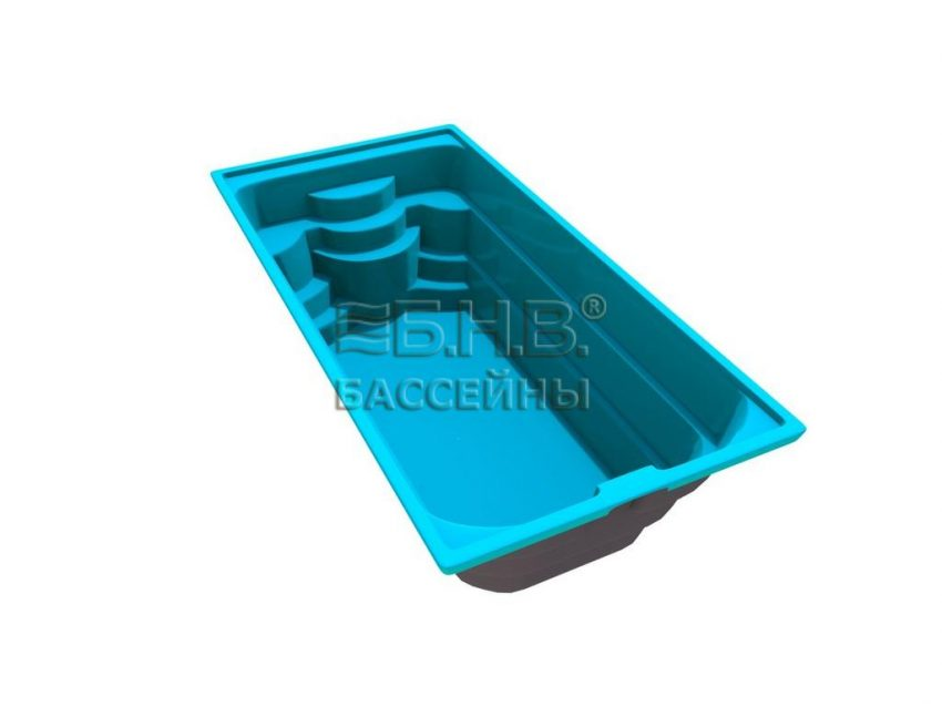 Купить бассейн стекловолокно Трино 2