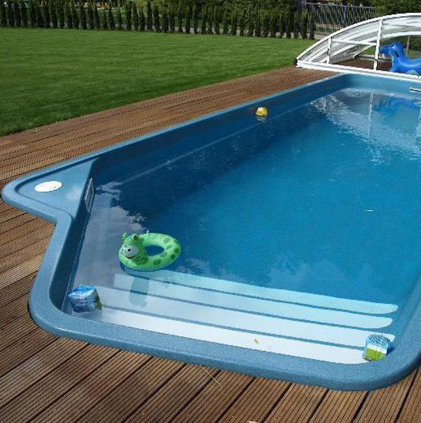 Скиммерный или переливной бассейн