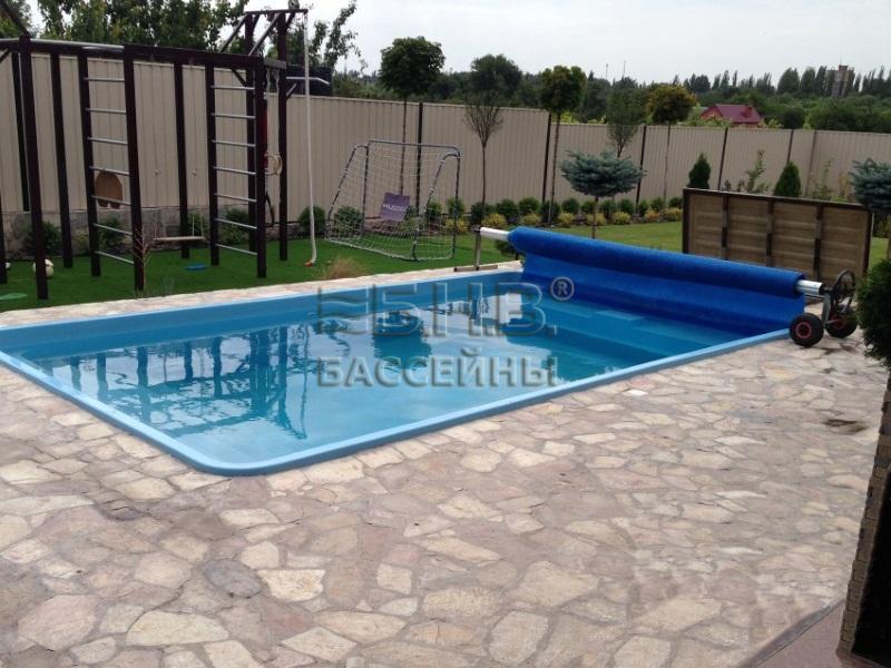 Стекловолоконный бассейн Майорка
