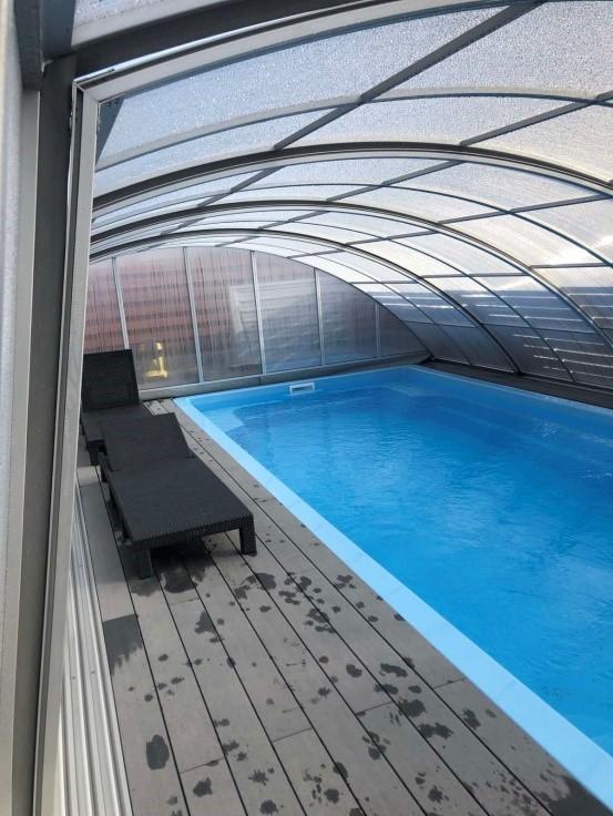 павильон для бассейнов