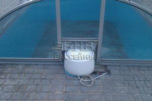 полипропиленовый бассейн и навесная D-30