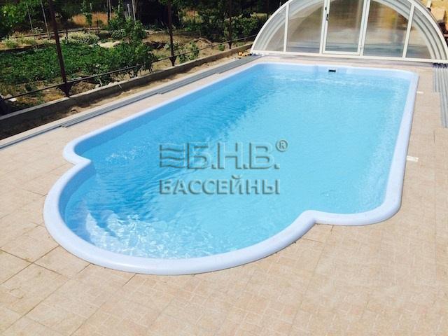 Стекловолоконный бассейн Рем