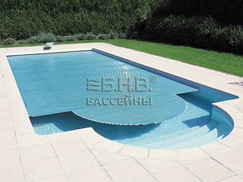 Ролетное накрытие для бассейна