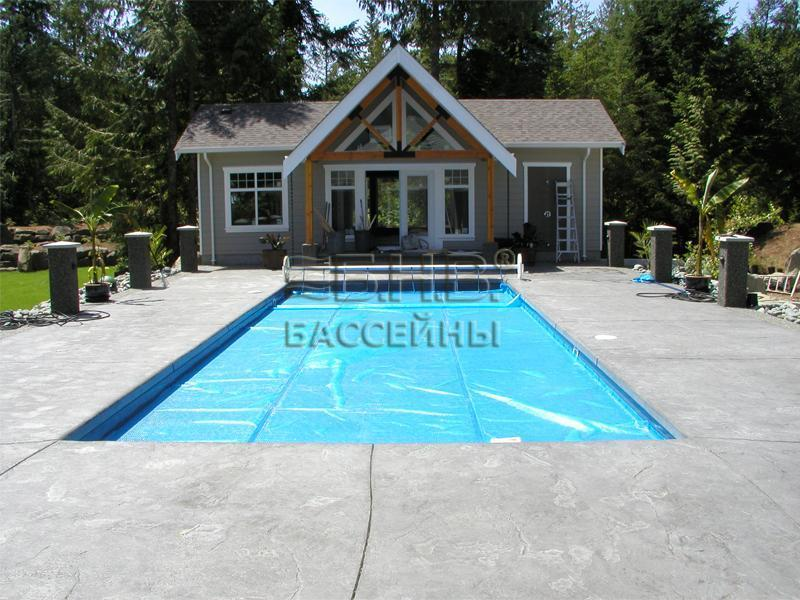 Пленочное накрытие для бассейна