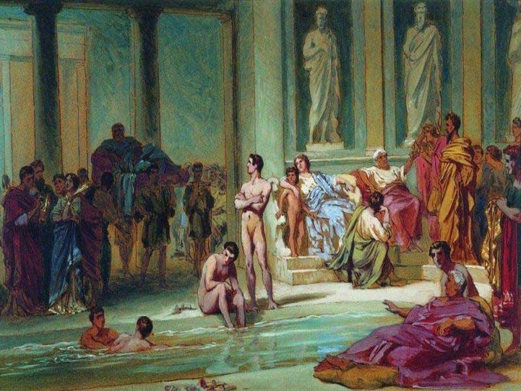 история возникновения бассейна