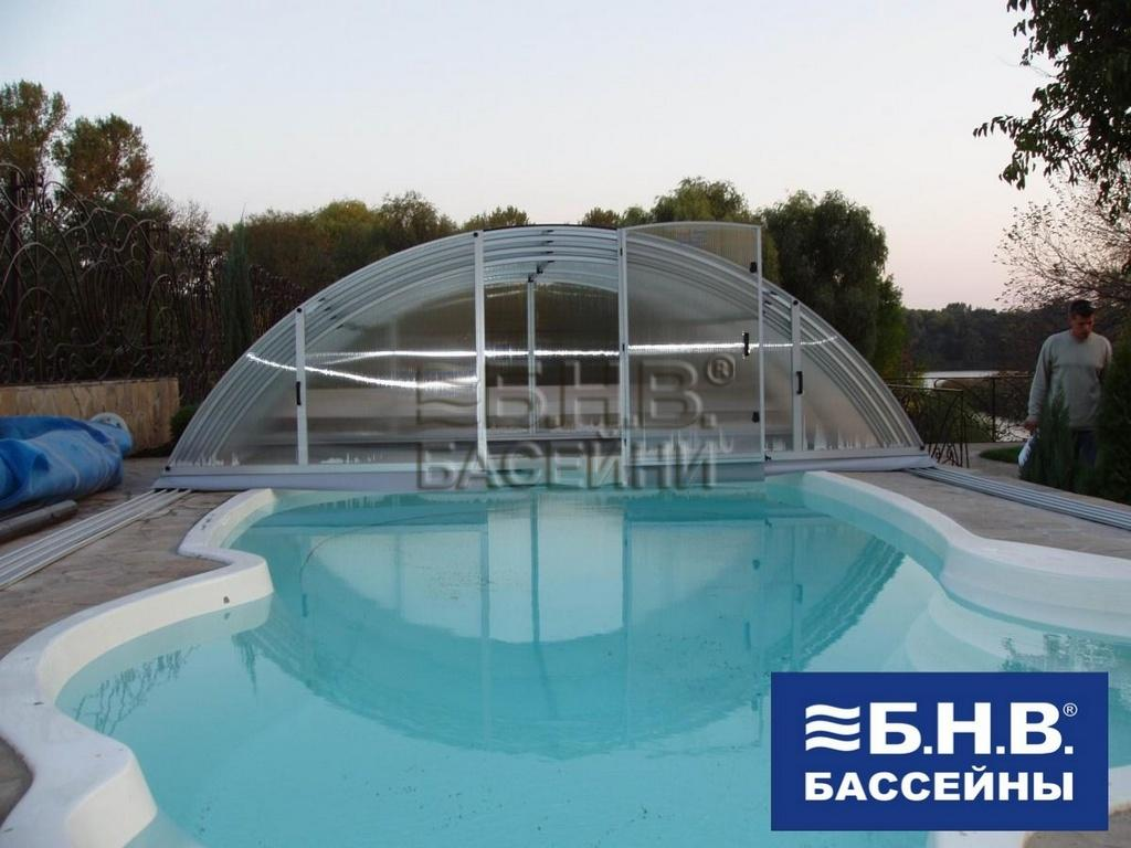 Как выбрать павильон для бассейна