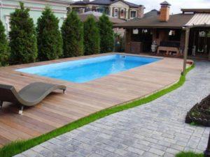 выгодно купить композитный бассейн
