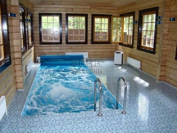 Как построить бассейн в доме