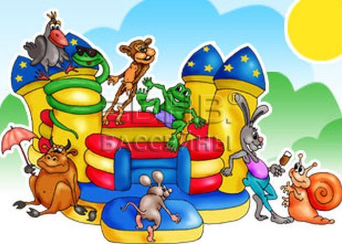 Как сделать детскую площадку с бассейном