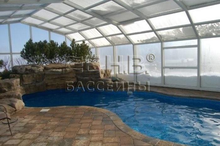Павильон для бассейна или покрытие