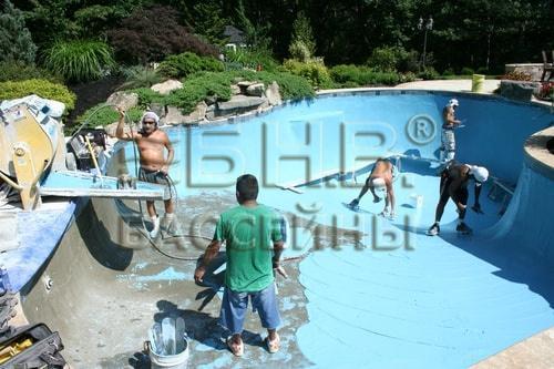 Строительство бассейна под ключ
