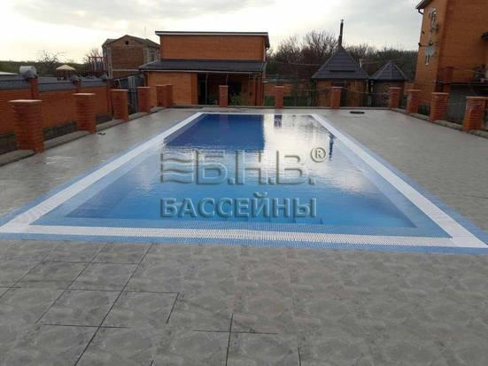 Бетонный бассейн Бетер 600 - Геническ 2017