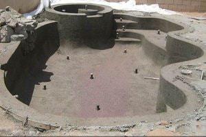 Построить бассейн из бетона
