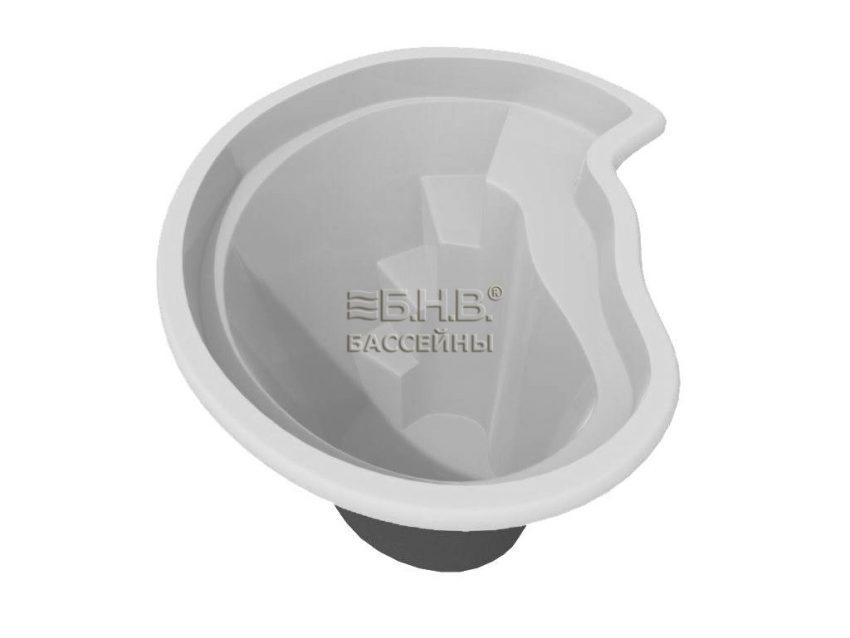 Купить керамический бассейн Купель 1