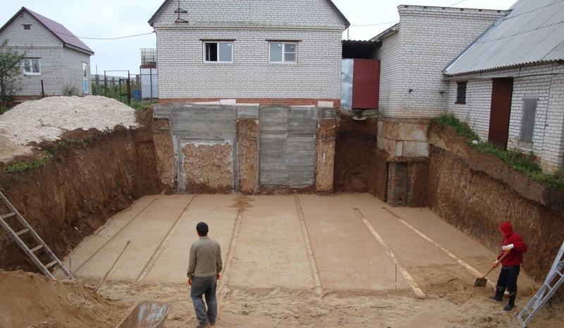 Бассейн бетонный цена