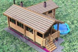 Строительство бань саун бассейнов