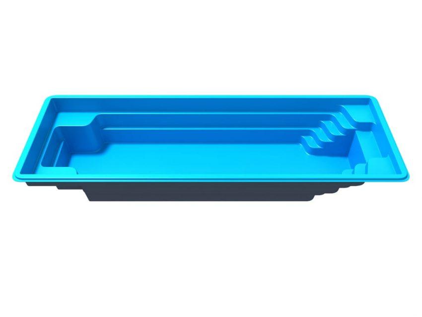 Стекловолоконный бассейн Оскар 7