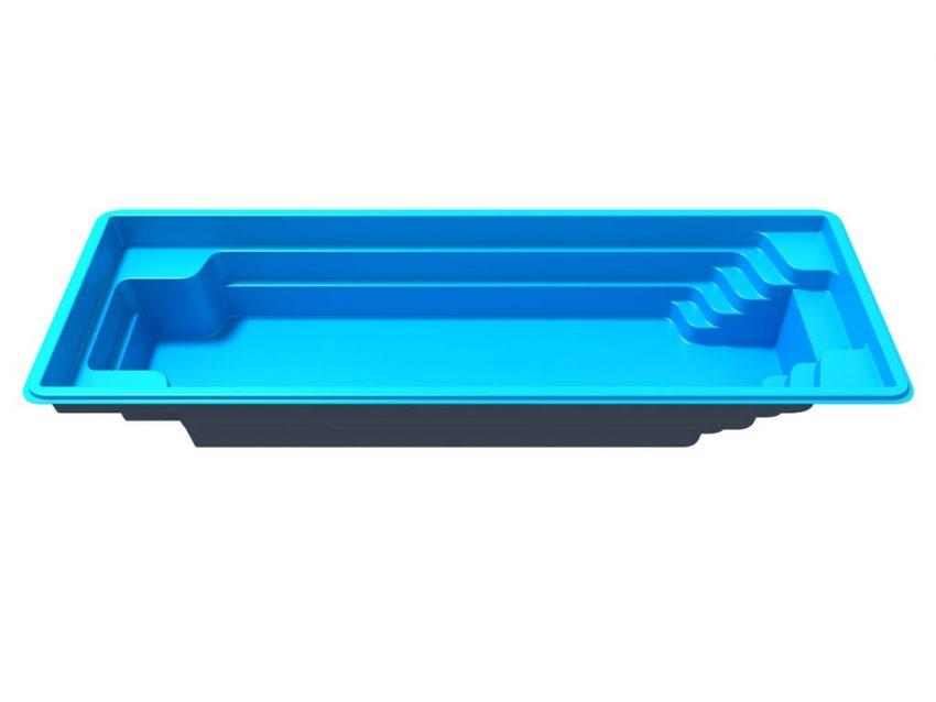 Стекловолоконный бассейн Оскар 8