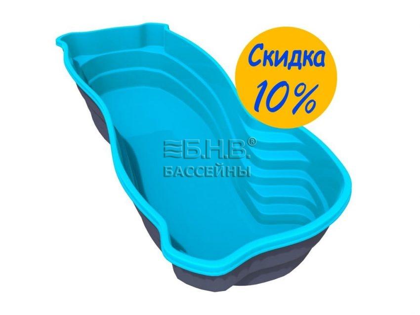 Купить бассейн из стекловолокна