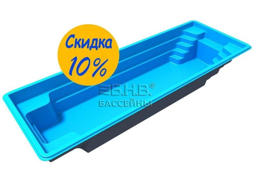 Стекловолоконный бассейн Оскар 10