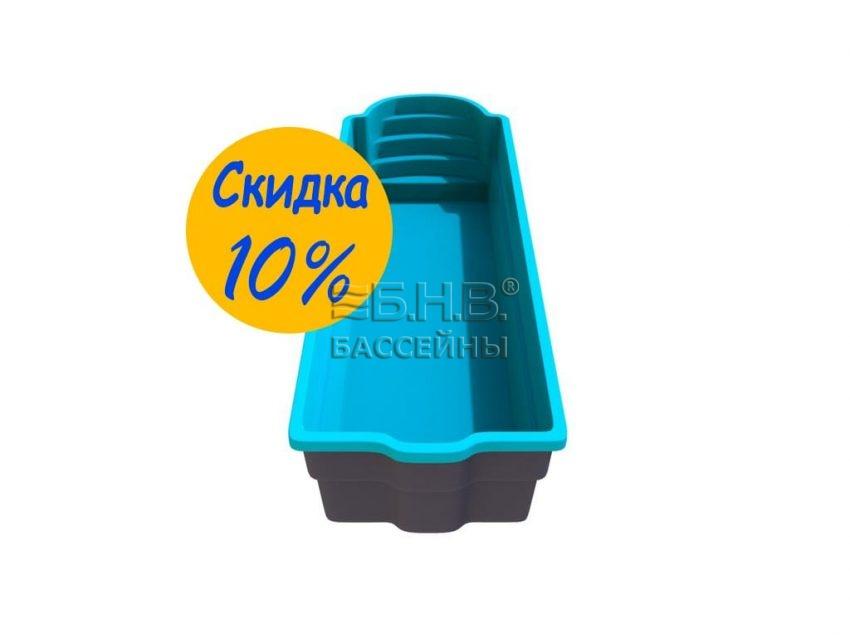 Купить бассейн из стекловолокна в Украине