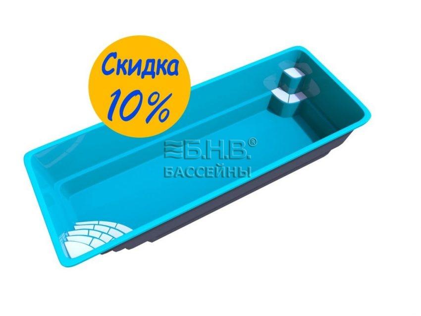 Купить стекловолоконный бассейн Покровский