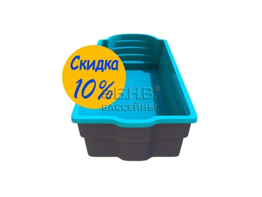 Купить стекловолоконный бассейн в Украине