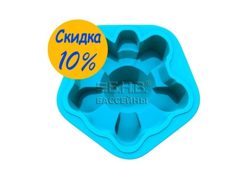 Стекловолоконный бассейн Ромашка