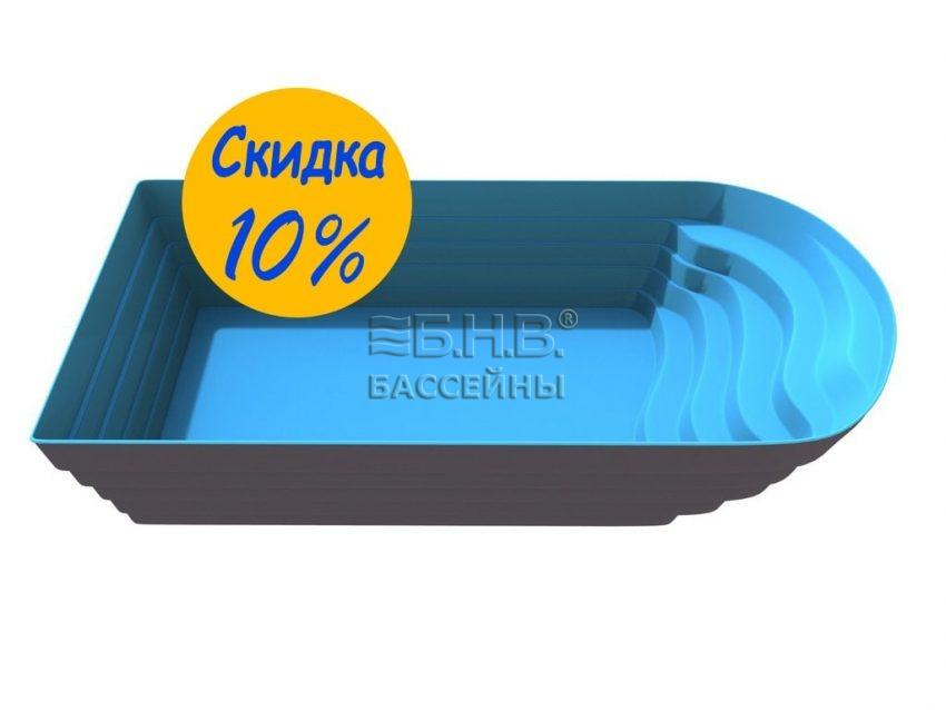 Стекловолоконный бассейн в Украине