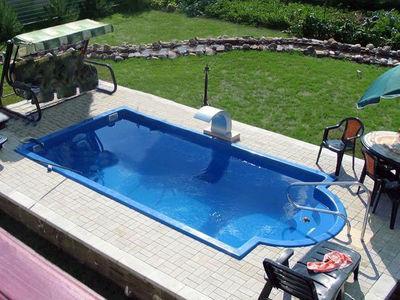стандартный бассейн-стекловолоконный Гольф