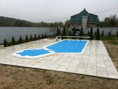 бассейн премиум - керамический