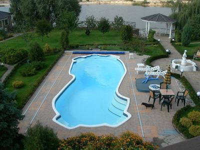 бассейн премиум - композитный