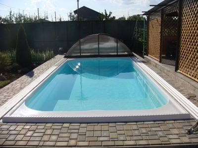 стандартный бассейн-стекловолоконный Трино