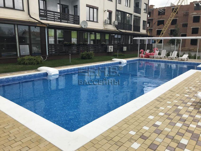 Бетонный бассейн Beter 15 метров - Харьков 2019