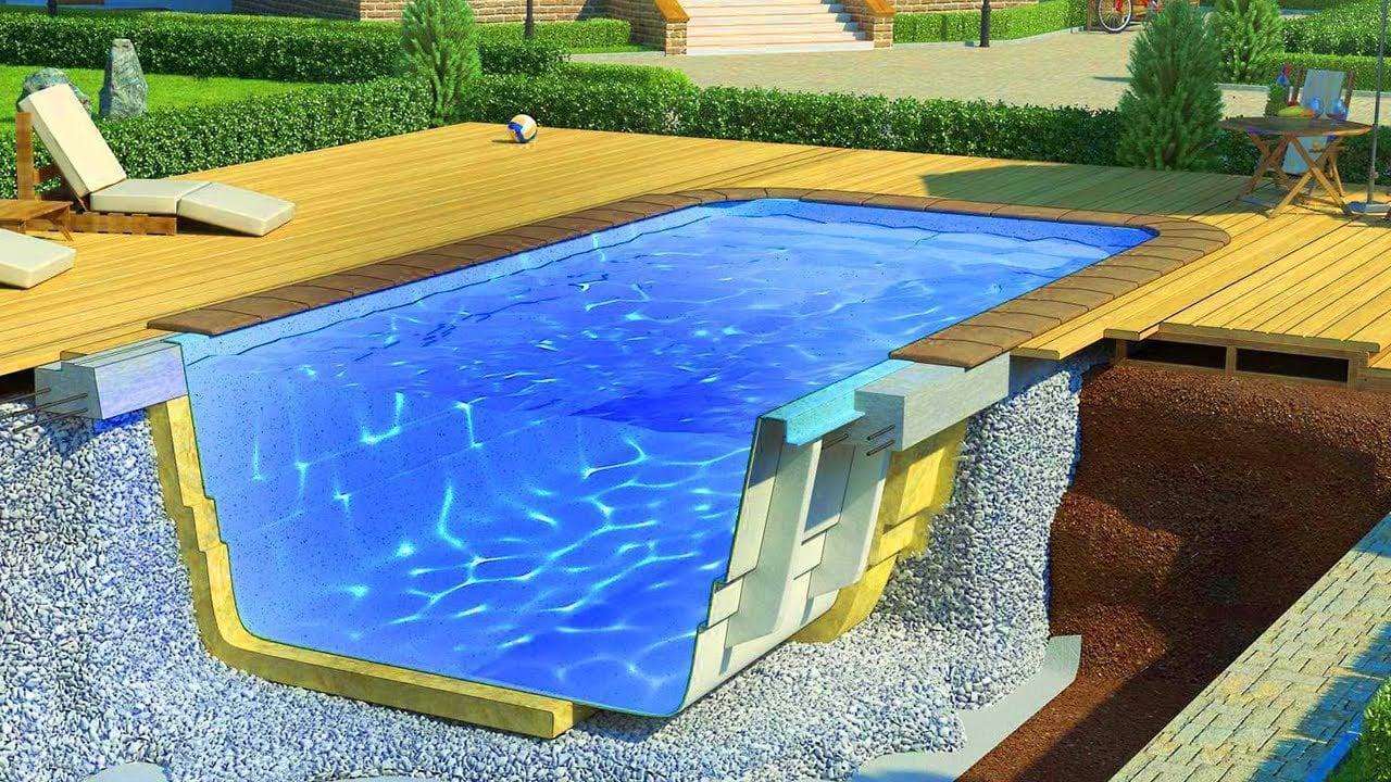 Что лучше: бетонный бассейн или пластиковый купить, лучшая цена - Киев,  Украина | B.N.V. Ukraine