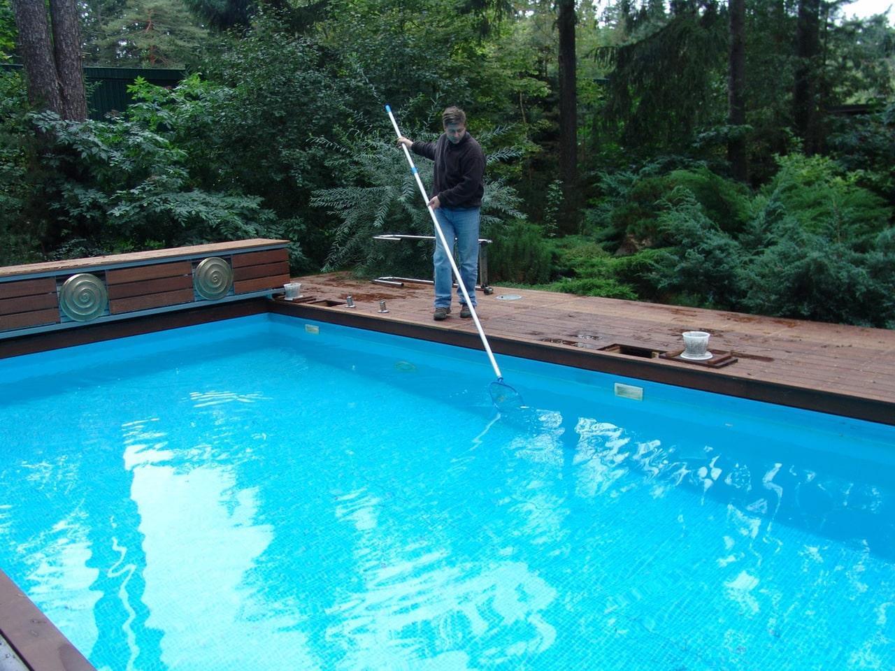 Бассейн уход - правила обслуживания бассейнов